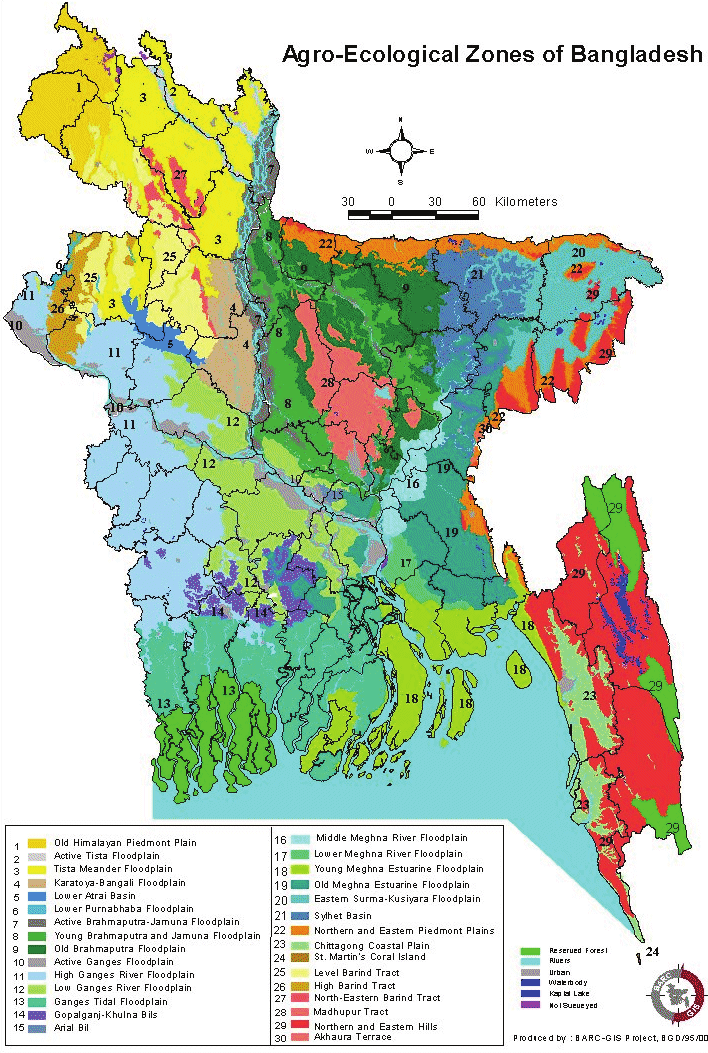 Agroecological zone of Bangladesh