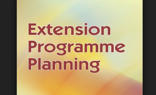 Extension programme planning