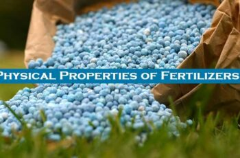 Physical Properties of Fertilizers
